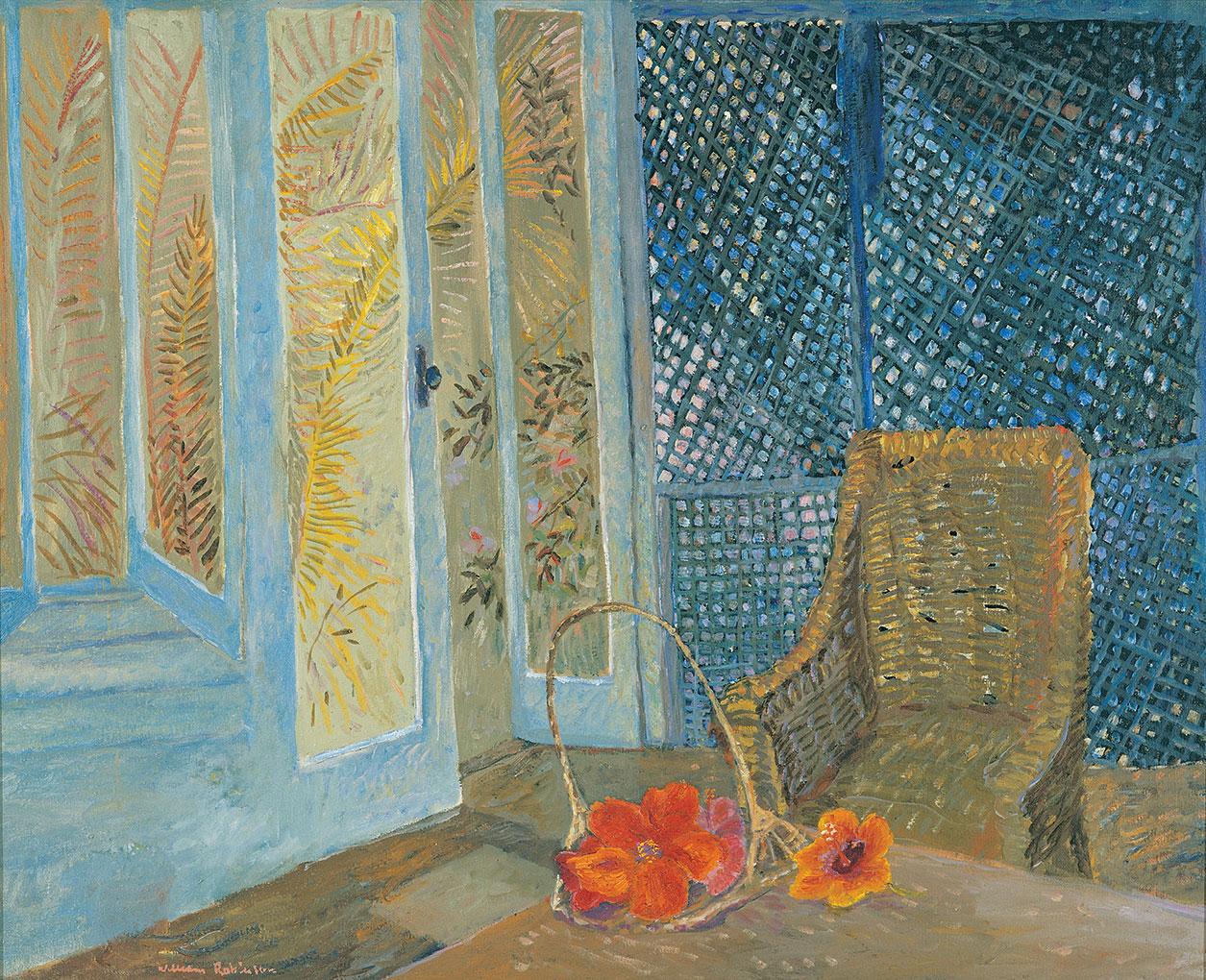 William ROBINSON 'The lattice verandah' 1971-72