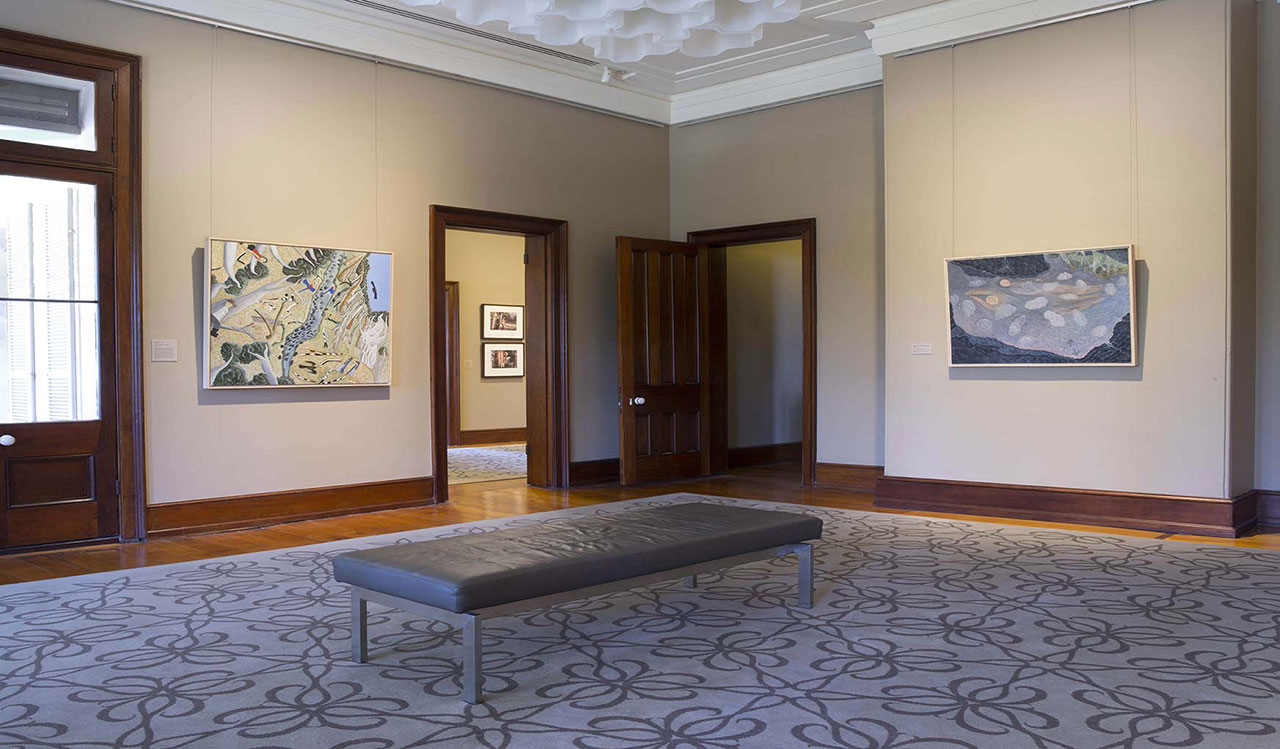Installation view of 'William Robinson: Inspirations', 2015-16. William Robinson Gallery, Brisbane. Photo: Carl Warner