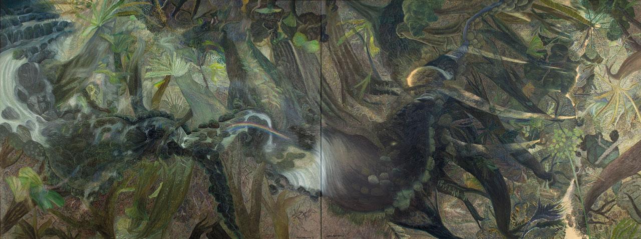 William Robinson 'The rainforest' 1990