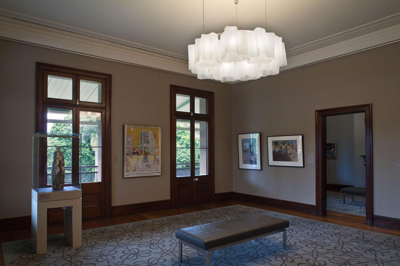 Installation view of 'William Robinson: The transfigured landscape', 2011