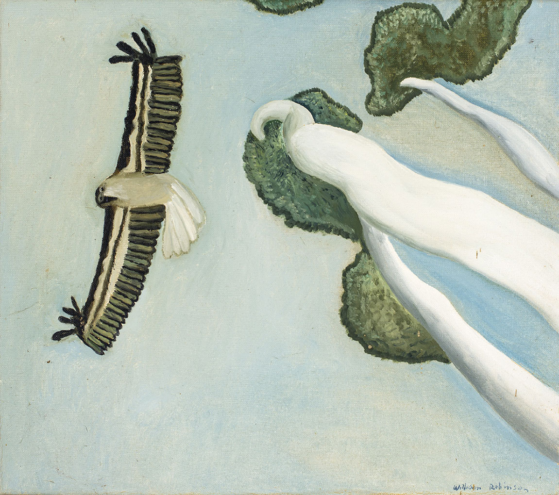 'Eagle' c.1985, oil on linen. Private collection, Brisbane