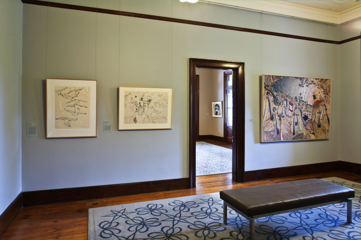 Installation view of 'William Robinson: Insights', 2012-13. William Robinson Gallery, Brisbane. Photo: Carl Warner