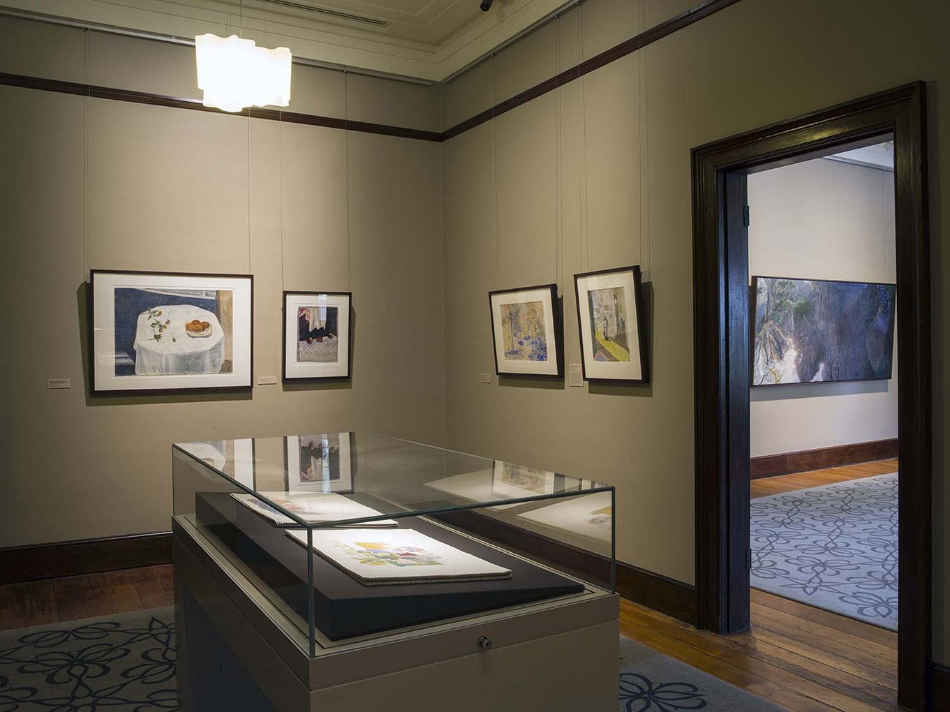 Installation view of 'William Robinson: Infinite sphere', 2014-15. William Robinson Gallery, Brisbane. Photo: Carl Warner