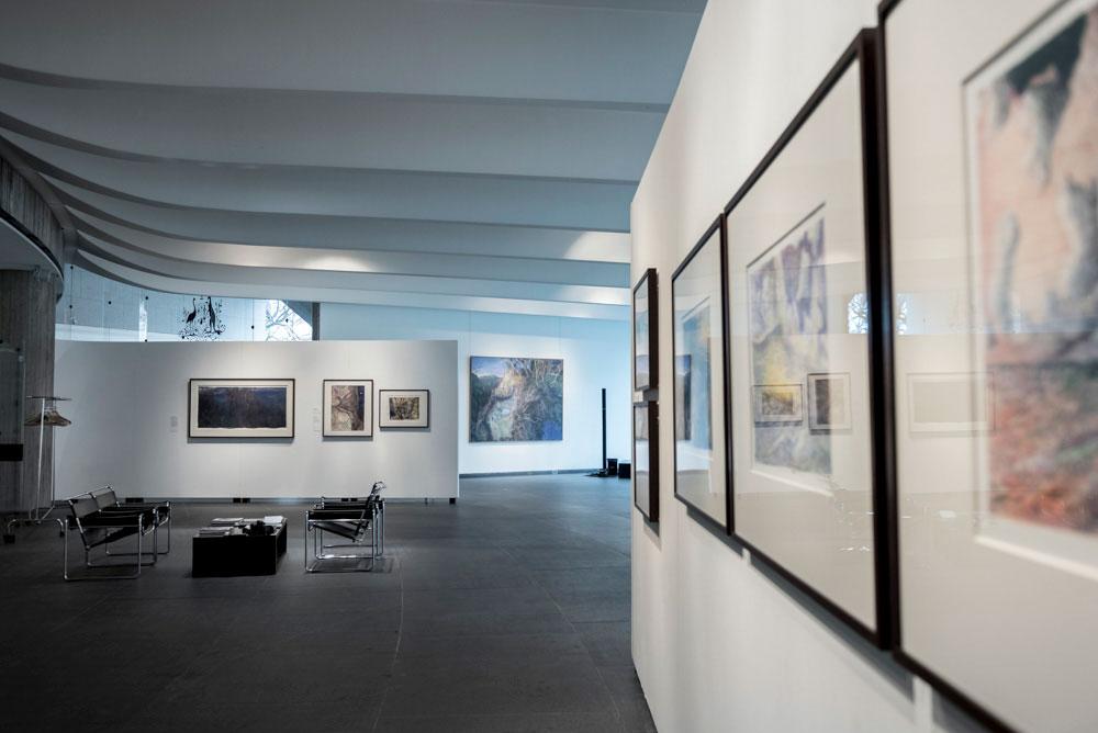 Installation view of 'William Robinson: Genesis' 2018, Australian Embassy Paris.