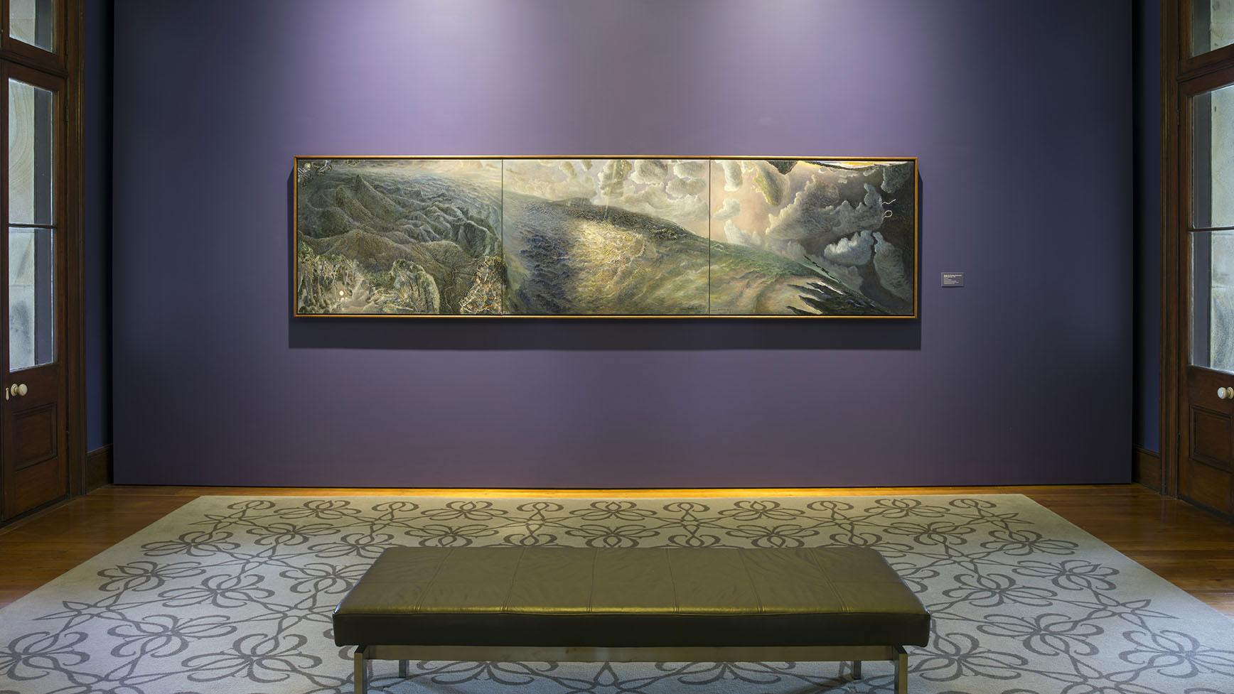 Installation view of 'William Robinson: Genesis', 2016-17. William Robinson Gallery, Brisbane. Photo: Carl Warner.