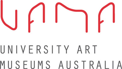 logo - university art museums australia