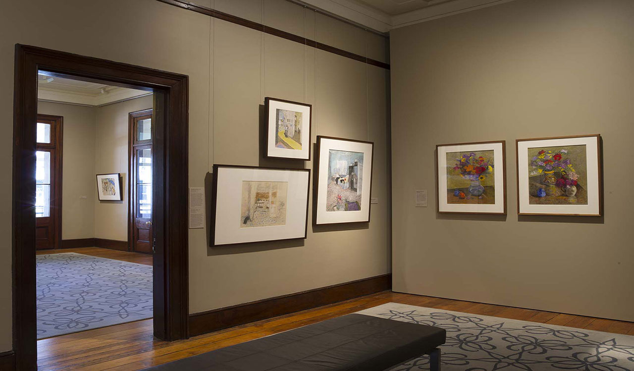 Installation view of 'William Robinson: Inspirations', 2015-16