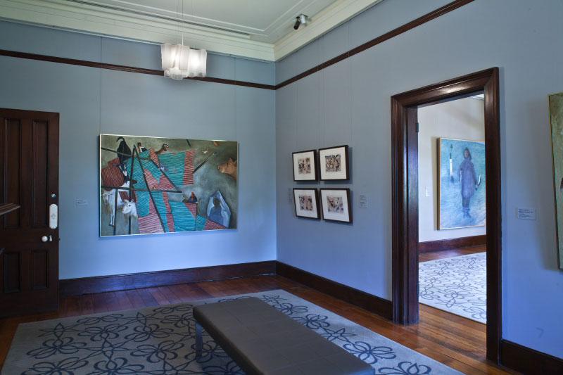 Installation view of 'William Robinson: A portrait of the artist' 2011-12. William Robinson Gallery, Brisbane. Photo: Richard Stringer.
