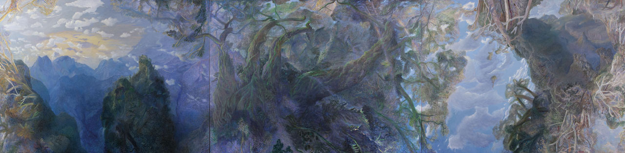 William Robinson 'Creation landscape: The ancient trees' 1997