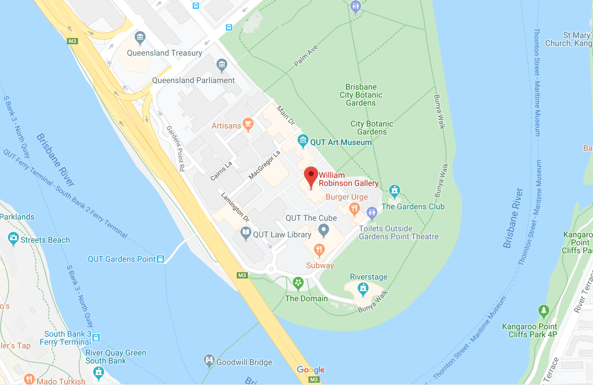 Map of our location