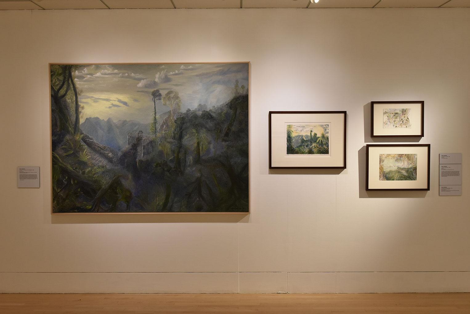 Installation view of 'William Robinson: Genesis' 2017, Embassy of Australia, Washington D.C.